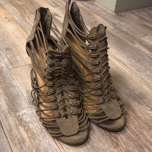 Bamboo stash heels